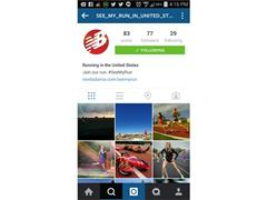 NEW BALANCE LAUNCHES NEW #SEEMYRUN INSTAGRAM EXPERIENCE ON JUNE 3, 2015 - NATIONAL RUNNING DAY