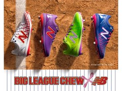 New Balance Reveals Big League Chew Baseball Collection for National Bubble Gum Day