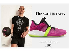 NEW BALANCE INTRODUCES THE OMN1S LOW WITH NBA PLAYER AND FORMER BRAND INTERN DARIUS BAZLEY