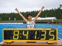 Nozomi Tanaka broke Japanese Record in Women's 3000m