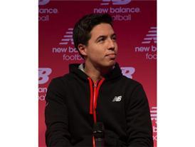 Team New Balance Football Athlete Samir Nasri