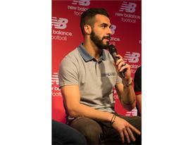Team New Balance Football Athlete Alvaro Negredo