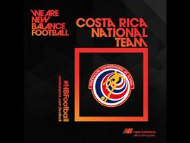 New Balance Football announces sponsorship of Costa Rican Football Federation