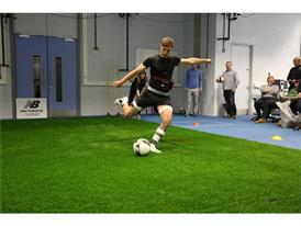 Collecting Data from New Balance Football Player Aaron Ramsey