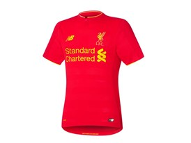 New Balance Reveals Liverpool FC 2016/17 Home Kit - Short Sleeve