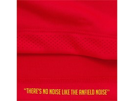 """New Balance Reveals Liverpool FC 2016/17 Home Kit - Detail Shot """"There's No Noise Like The Anfield Noise"""""""