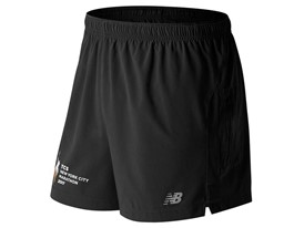 Mens Marathon Impact 5 Inch Short Black - MS63226V