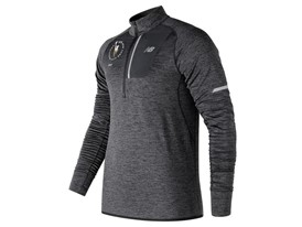 Men's Marathon NB Heat Half Zip Black - MT3220V