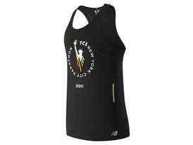 Men's Marathon NB Ice Singlet Black - MT63222
