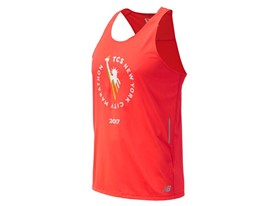 Men's Marathon NB Ice Singlet Red - MT63222