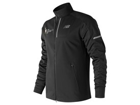 Men's Marathon Windblocker Hybrid Jacket Black - MJ73218V