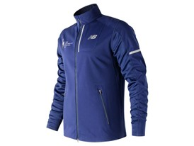 Men's Marathon Windblocker Hybrid Jacket Blue - MJ73218V