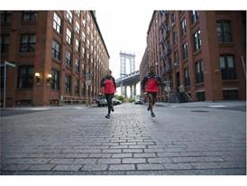 New Balance 2017 TCS NYC Marathon Windcheater Jacket Red