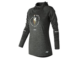 Women's Marathon NB Heat Pullover Black - WT73229V