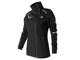 Women's Marathon Windblocker Hybrid Jacket Black - WJ73218V