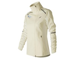 Women's Marathon Windblocker Hybrid Jacket White - WJ73218V