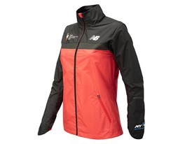 Women's Marathon Windcheater Jacket Front Red - WF73210V