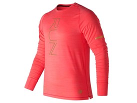 Men's Marathon Seasonless Long Sleeve Red - MT73236V