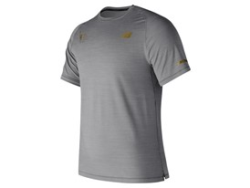 Men's Marathon Seasonless Short Sleeve Grey - MT73233V