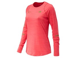 Women's Marathon Seasonless Long Sleeve Red - WT73236V