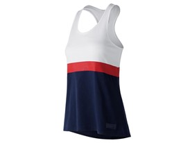Women's Marathon NB Athletics Novelty Tank Pigment Front - WT73551V