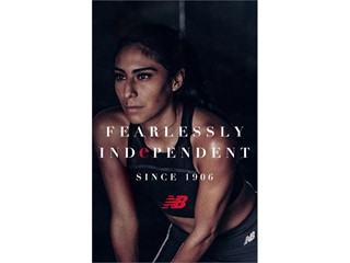 "NEW BALANCE DEBUTS ""FEARLESSLY INDEPENDENT SINCE 1906"" GLOBAL BRAND PLATFORM THAT REFLECTS ITS HERITAGE AND MISSION TO CHALLENGE THE STATUS QUO"