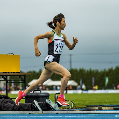 Team New Balance Japanese athlete Nozomi Tanaka