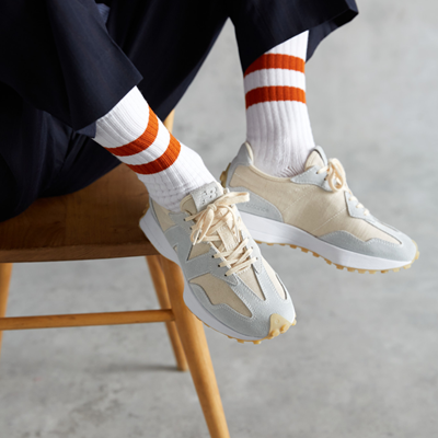 New Balance Releases the New 327 Undyed Colorway