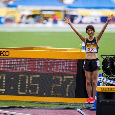NOZOMI TANAKA BREAKS JAPANESE RECORD IN WOMEN'S 1500M
