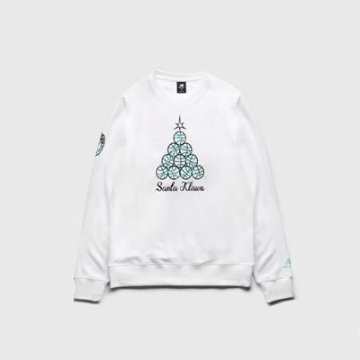 New Balance KAWHI Christmas Signature Shoes - Sweatshirt in White