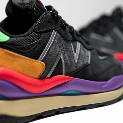 New Balance Introduces the 57/40 - Black Details Shot