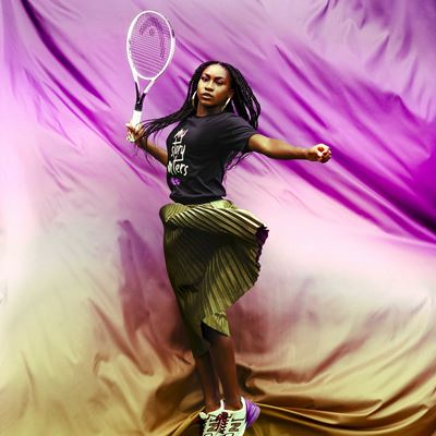 Team New Balance Tennis Athlete Coco Gauff for the My Story Matters Campaign in Honor of Black History Month