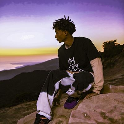 New Balance Ambassador Jaden Smith for the My Story Matters Campaign in Honor of Black History Month