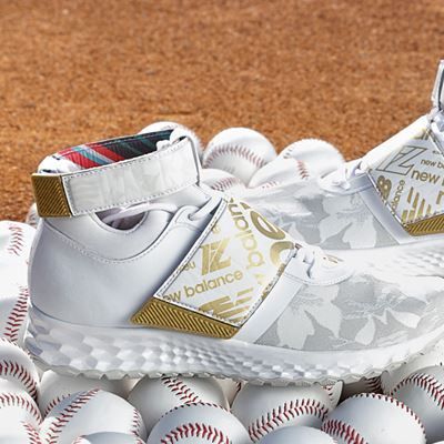 New Balance Lindor Collection - Baseball Cleat in White