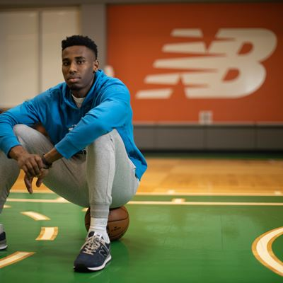 NEW BALANCE SIGNS BOSTON CELTICS ROOKIE AARON NESMITH