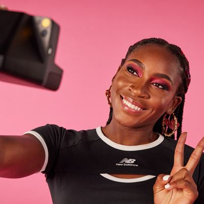 New Balance Coco Gauff Collection - Coco Fitting Ringer Tee