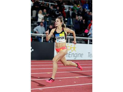 TEAM NEW BALANCE ATHLETE JENNY SIMPSON WINS SILVER  AND MAKES HISTORY IN 1500M AT 2013 IAAF WORLD CH