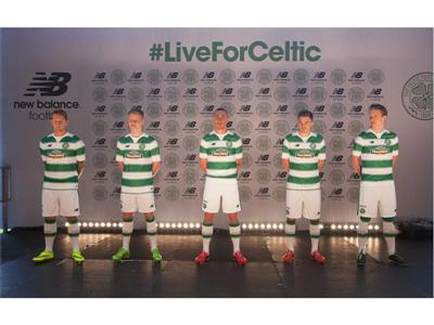 New Balance Reveals Celtic FC 2015/16 Home Kit