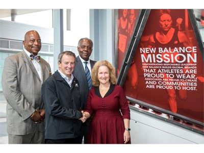 Program Funded by Record Campus Gift of $5 Million from New Balance