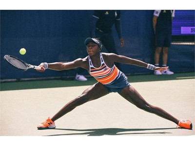 14-YEAR-OLD TENNIS STAR COCO GAUFF SIGNS WITH TEAM NEW BALANCE