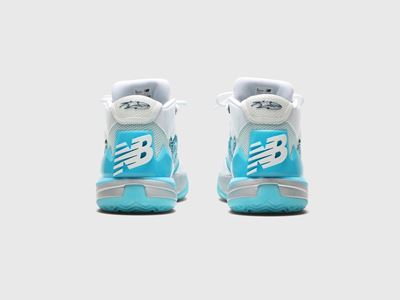 New Balance KAWHI Christmas Signature Shoes - Heel Shot