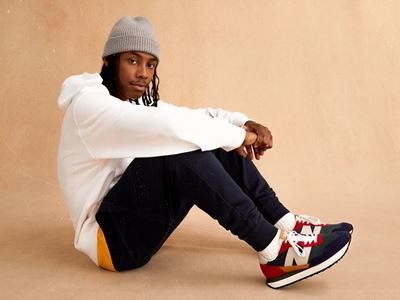 New Balance Launches the 237 - on model photography