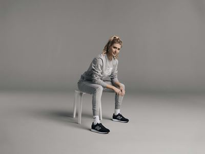 Genie Bouchard Joins Team New Balance - New 327 Colorway
