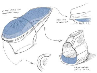 New Balance Hoops Reveals the BB9000 - Original Sketch
