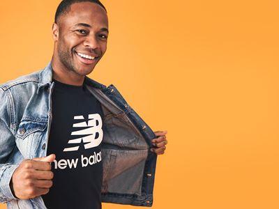 New Balance signs global football star Raheem Sterling