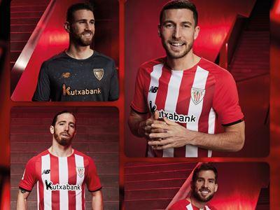 New Balance Reveals Athletic Club Bilbao  21/22 Home Strip