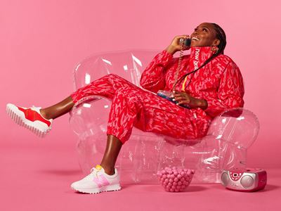 New Balance Coco Gauff Collection - Track Suit with 327