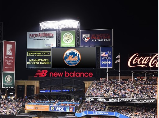 Right Field Sign New Balance