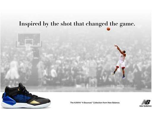 The KAWHI 4 Bounces Inspired by the Shot that Changed the Game Poster