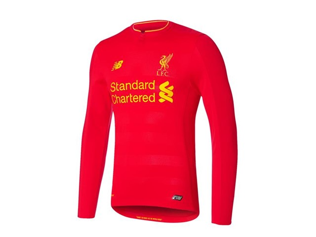6aa78ab9f New Balance Press Box : New Balance Reveals Liverpool FC 2016/17 ...
